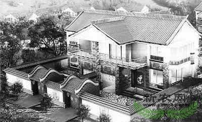 入选设计户型效果图-河北农村全面推广新民居